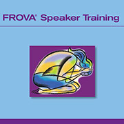 Frova Speaker Training Meeting Materials