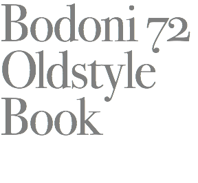 Bodoni 72
