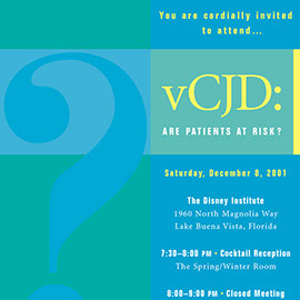 vCJD Scientific Program Invitation